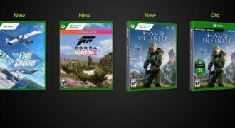 """Xbox : avènement d'un nouveau design pour les boîtes de jeu ! (au revoir petite gommette """"X"""" et logo Xbox brillant…)"""