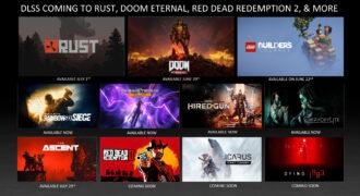 Deep Learning Super Sampling (DLSS) : Nvidia annonce de nouveaux jeux vidéos supportés ! (la veille de l'avènement du FSR par AMD…)