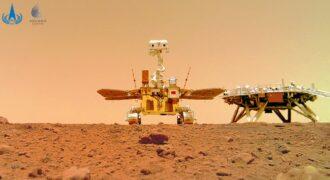 [Détente] Mars : Zhurong aussi succombe à la mode du selfie ! (Mars the planet to be…)