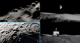 Lune : cartographie et exploration de la surface lunaire au rendez-vous pour VIPER, d'ici 2023, aux abords du cratère Nobile !