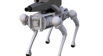 SPUR : un chien-robot à application militaire intégrant des balles Creedmoor 6,5 mm !